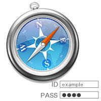 iPhone・PC版Safariのログインページ自動入力機能の使い方