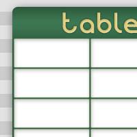 テーブル(表)のHTMLの基本的な作り方