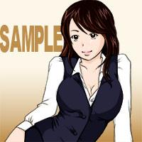 Web漫画の仕事が貰えそうなんでPhotoshopでイラストを描いてみました